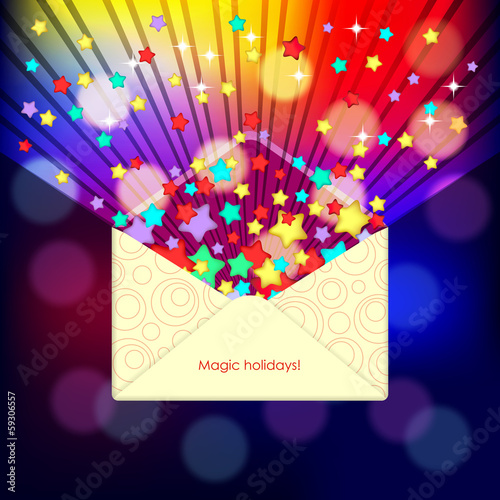 Magic envelope
