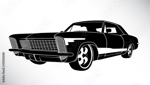 US american muscle car