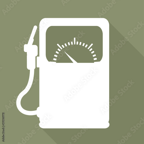 Gas, fuel station icon