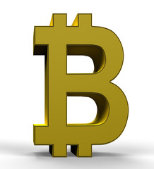 Golden bitcoin