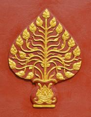 Thai style ornament details.
