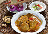 Thai food  chicken mussaman curry