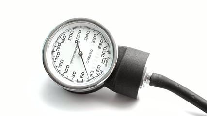 Blood pressure meter.