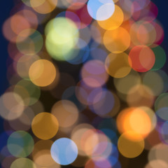 lights bokeh background