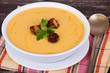 Apple pumpkin cream soup