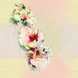 Floral seamless colorful pattern