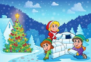 Christmas outdoor theme 3