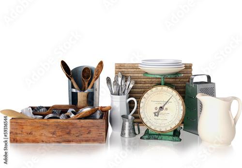 alte k chenger te vintage retro kitchen utilities stockfotos und lizenzfreie bilder auf. Black Bedroom Furniture Sets. Home Design Ideas