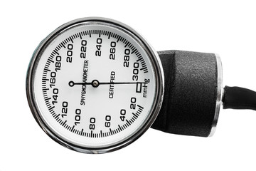 Old blood pressure measurement tool.
