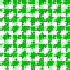 grün weiß karierter Stoff als nahtloses Muster