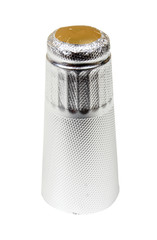 Silver capsule for a champagne bottle