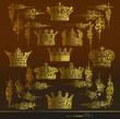 Постер, плакат: корона уголок