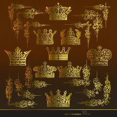 корона,уголок