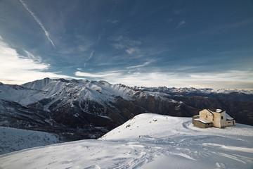 Piedmont's mountain landscapes