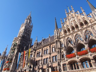 Town Hall in Munich, Germany