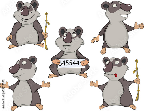 Panda clip art cartoon