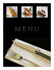 Menu de restaurant