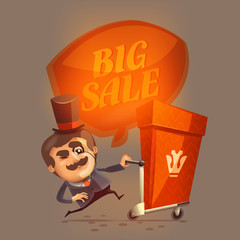 Big sale. Vector format