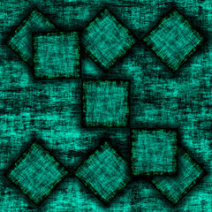 Grunge Background With Squares