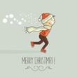 Christmas Happy Kid