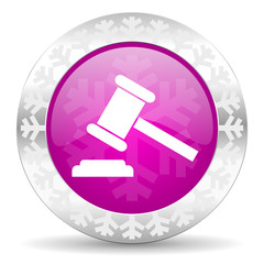auction christmas icon