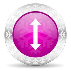 arrow christmas icon