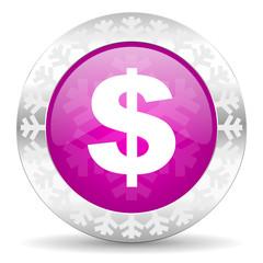dollar christmas icon