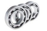 metal bearing on white