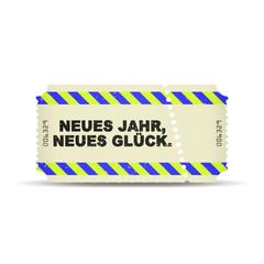 ticket v3 neues jahr neues glueck I