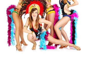 Carnival girls!