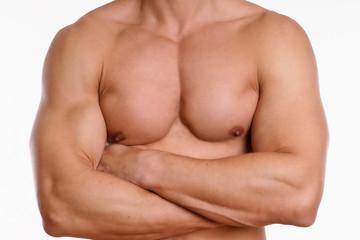 männliche Brustmuskeln