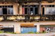 Colonial ruin in Vientiane, Laos.