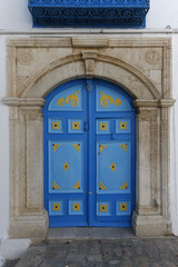 Traditional Tunisian Door