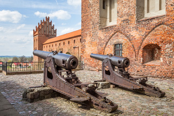 The medieval castle defense