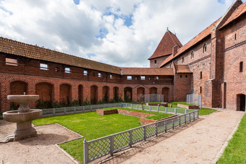 The Castle of the Teutonic Order in Malbork