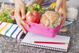 Fototapety Healthy school lunch