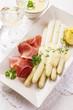 spargel mit  prosciutto