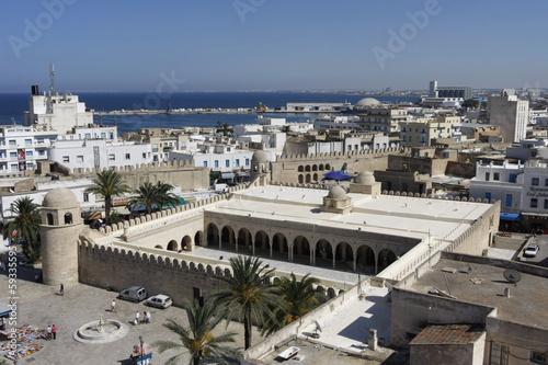 Staande foto Tunesië Sousse Panorama