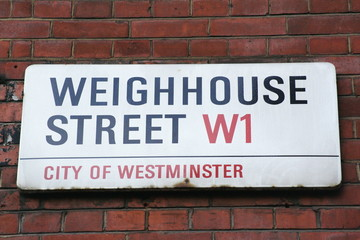 Weighhouse Street W1 a famous London Address