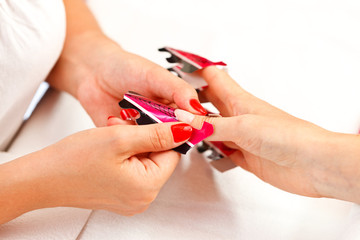 Preparing process for artificial nails