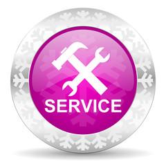 service christmas icon