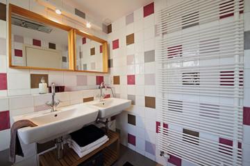 salle de bain de charme