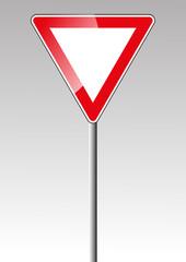 Vorfahrt Verkehrszeichen Verkehrsschild