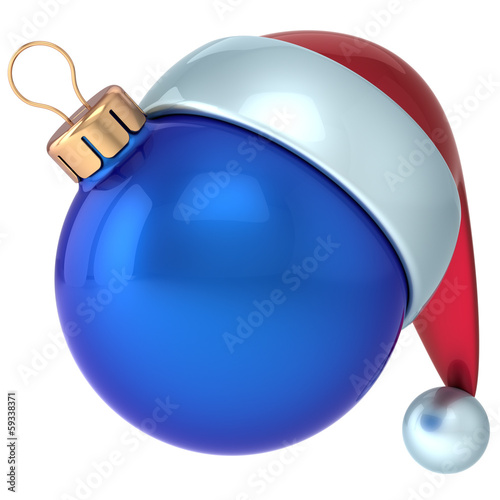 Christmas ball New Year bauble decoration ornament Santa hat
