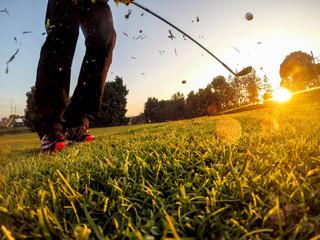 Golf: Short Game around the green.