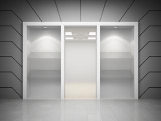 Modern shop window