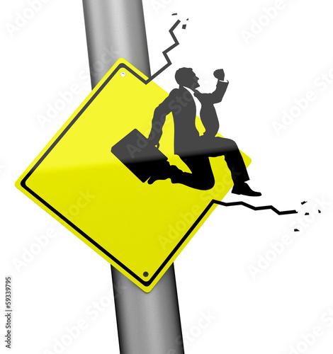 Die Flucht - Businesskonzept