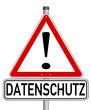 Datenschutz Spam Schild  #131212-svg06
