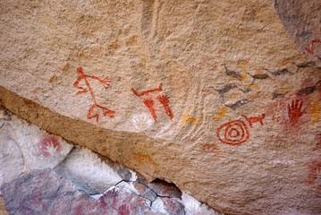 Peintures rupestres, Patagonie