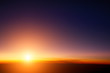 Sunset sky stratosphere background taken from plane. - 59341362